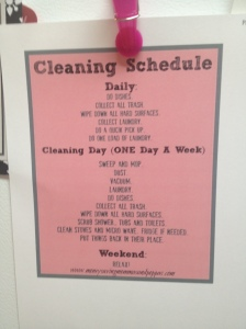 cleaningsched