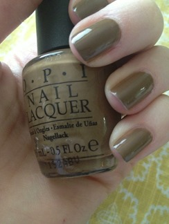 opi nail polish a taupe the space needle swatch