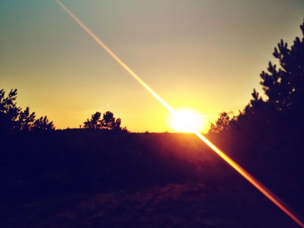 east texas sunset