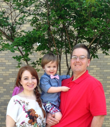 our little family after church