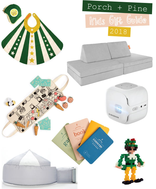 porch + pine kids holiday gift guide 2018